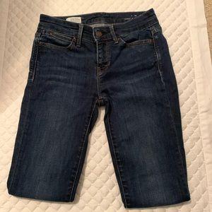 Gap 1969 mid rise skinny fit petite jeans